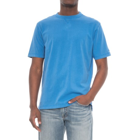 Woolrich First Forks T-Shirt - UPF 50, Short Sleeve (For Men) in Summer Sky