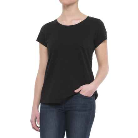 Woolrich First Forks T-Shirt - UPF 50, Short Sleeve (For Women) in Black - Closeouts