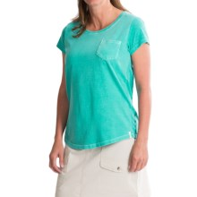 Woolrich First Forks T-Shirt - UPF 50, Short Sleeve (For Women) in Sea Foam - Closeouts