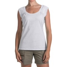 Woolrich First Forks Tank Top - UPF 50+ (For Women) in Sea Salt - Closeouts