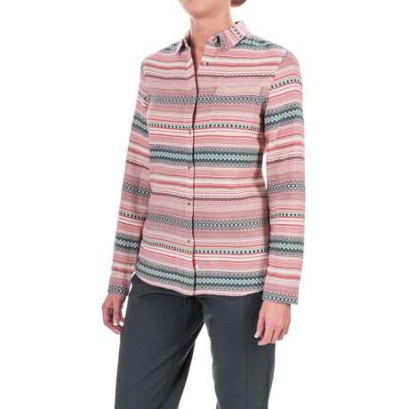 Woolrich First Light Striped Jacquard Shirt - Long Sleeve (For Women)