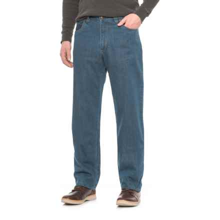Woolrich Flannel-Lined Jeans (For Men) in Denim - Closeouts
