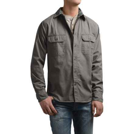 Woolrich Flannel-Lined Shirt Jacket (For Men) in Slate - Closeouts