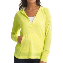 Woolrich Fork in Road Hoodie (For Women) in Lemongrass - Closeouts