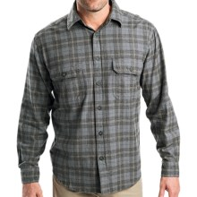 Woolrich Fox Hollow Shirt - Long Sleeve (For Men) in Slate - Closeouts