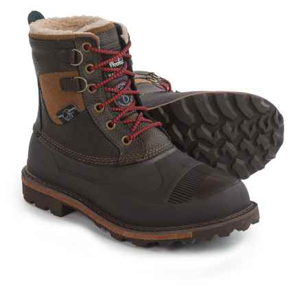 Woolrich Fully Wooly Lace Pac Boots - Waterproof, Insulated (For Men) in Java - Closeouts