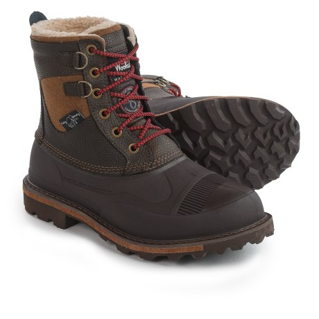 Woolrich Fully Wooly Lace Pac Boots - Waterproof, Insulated (For Men) in Java