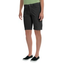 Woolrich Geo Long Shorts (For Women) in Black - Closeouts