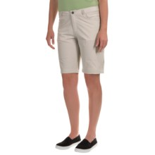 Woolrich Geo Long Shorts (For Women) in Silver Gray - Closeouts