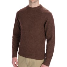 Woolrich Glenburn Shirt - Lambswool, Long Sleeve (For Men) in Wood Heather - Closeouts