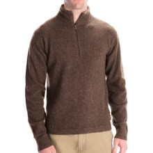 Woolrich Granite Springs Sweater - Zip Neck, Lambswool (For Men) in Wood Heather - Closeouts