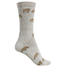 Woolrich Grazing Sheep Socks - Merino Wool, Lightweight (For Women) in Winter White - Closeouts