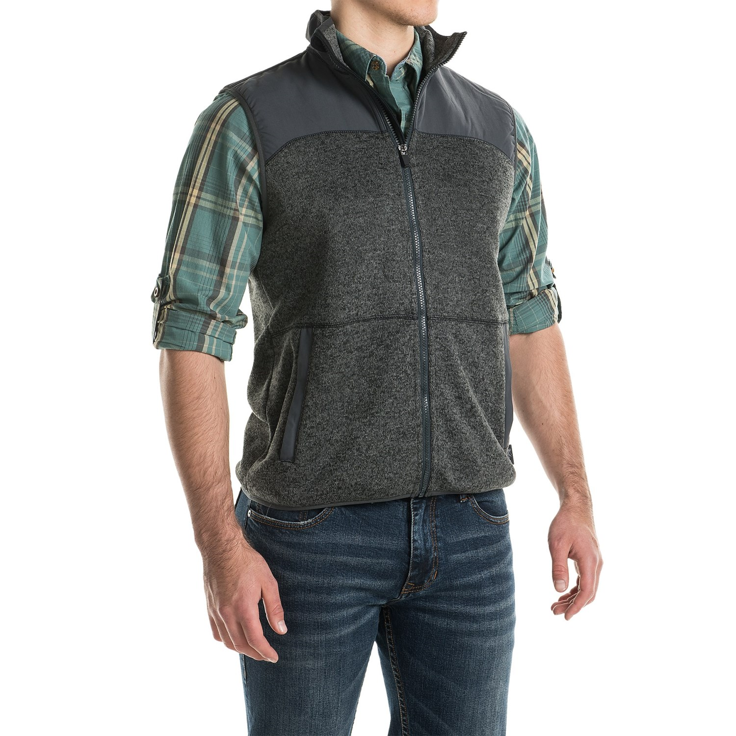 Woolrich Men's Fleece Vest