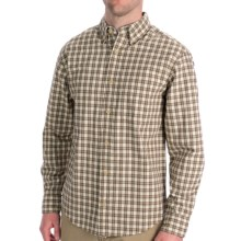 Woolrich Halifax Shirt - Long Sleeve (For Men) in Sawdust - Closeouts