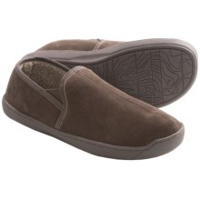 Woolrich Hallston Slippers - Suede, Faux-Fur Lining (For Men) in Wood - Closeouts