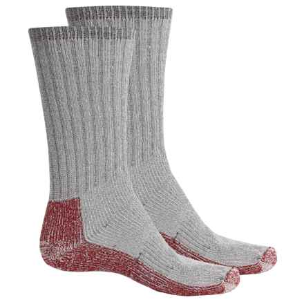 Woolrich Heavyweight Expedition Socks - 2-Pack, Merino Wool, Mid Calf (For Men) in Grey - Closeouts
