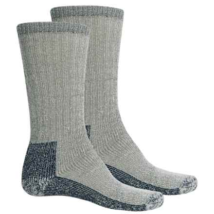 Woolrich Heavyweight Expedition Socks - 2-Pack, Merino Wool, Mid Calf (For Men) in Navy - Closeouts