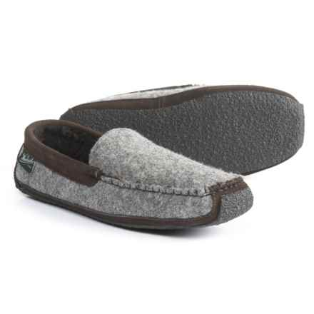 2f49b01526c8 Woolrich Heff Slippers - Suede (For Men) in Heff Ash - Closeouts
