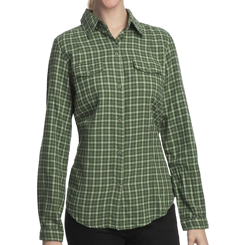 Woolrich Heirloom Cotton Lightweight Flannel Shirt Long