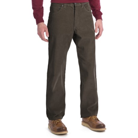 Woolrich Hemlock Corduroy Jeans (For Men) in Dark Loden