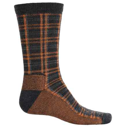 Woolrich Heritage Collection Buffalo Check Socks - Merino Wool, Mid Calf (For Women) in Charcoal - Closeouts