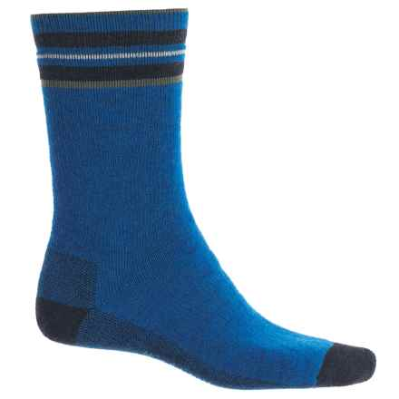 Woolrich Heritage Tipped Stripe Socks - Merino Wool, Crew (For Men) in Cobalt - Closeouts