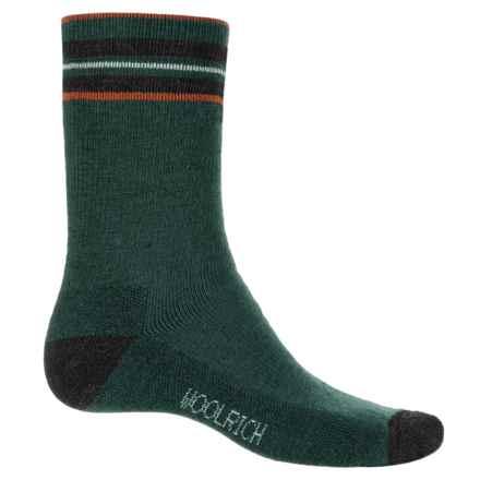 Woolrich Heritage Tipped Stripe Socks - Merino Wool, Crew (For Men) in Pine Grove - Closeouts