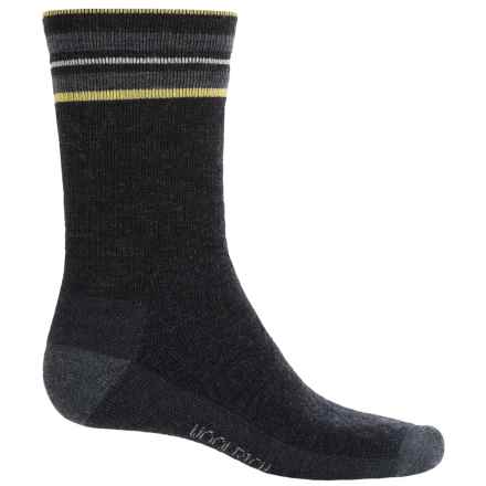 Woolrich Heritage Tipped Stripe Socks - Merino Wool, Crew (For Women) in Black - Closeouts