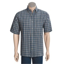 Woolrich Hidden Cove 3XDRY® Shirt - UPF30+, Short Sleeve (For Men) in Tide - Closeouts