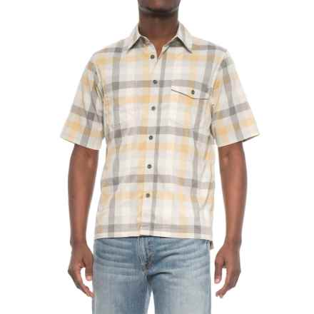 Woolrich High-Performance Shirt - Short Sleeve (For Men) in Amber Gold - Closeouts