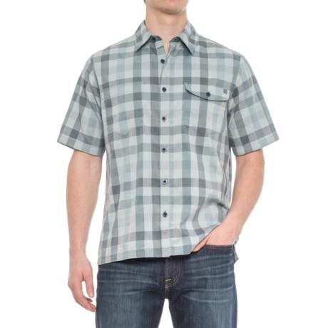 Woolrich High-Performance Shirt - Short Sleeve (For Men) in Dusk