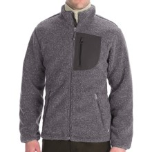 Woolrich High Point Jacket - Berber Fleece (For Men) in Grey Heather - Closeouts