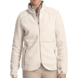 Woolrich High Point Sherpa Jacket - Full Zip (For Women) in Stone Heather