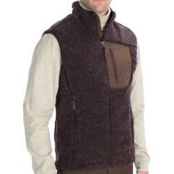 Woolrich High Point Vest (For Men) in Bark Heather