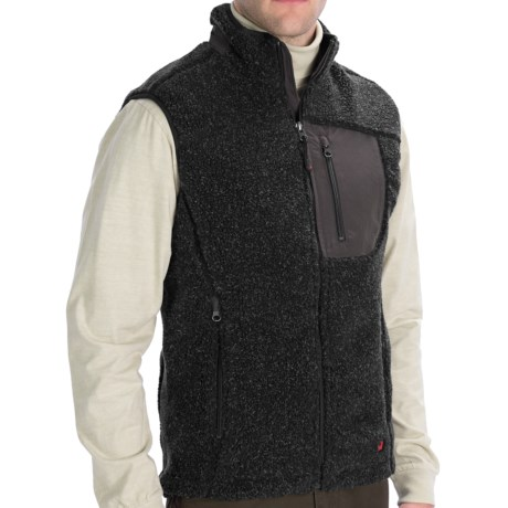 Woolrich High Point Vest (For Men) in Onyx Heather