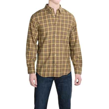 Woolrich High Season II Shirt - Long Sleeve (For Men) in Chicory - Closeouts