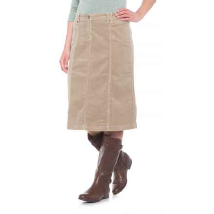 Woolrich Holly Hills Corduroy Skirt (For Women) in Khaki - Closeouts
