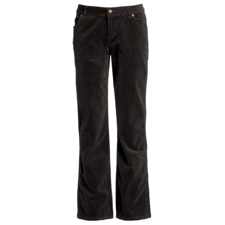 Woolrich Holly Hills Jeans - Stretch Cotton Corduroy (For Women) in Black