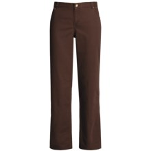 Woolrich Holly Hills Twill Jeans (For Women) in Dark Chocolate - Closeouts