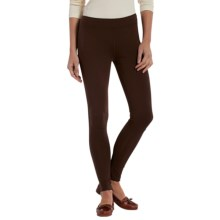 Woolrich Holly Spring Leggings - Stretch Jersey (For Women) in Dark Roast - Closeouts