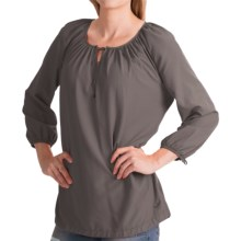Woolrich Hopewell Tunic Shirt - UPF 40, 3/4 Sleeve (For Women) in Slate - Closeouts