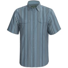 Woolrich Islander Shirt - UPF 40+, Organic Cotton, Short Sleeve (For Men) in Copen - Closeouts