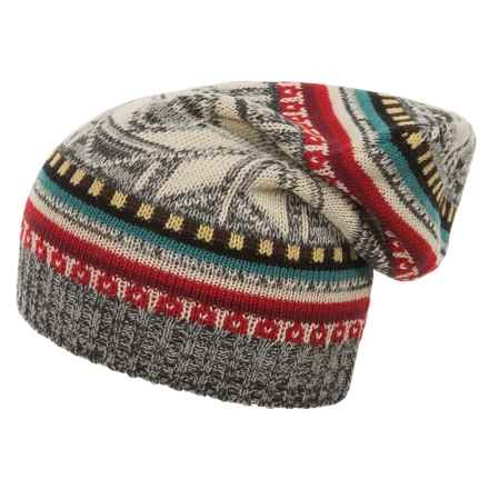 Woolrich Jacquard Slouch Hat (For Women) in Gray Heather - Closeouts