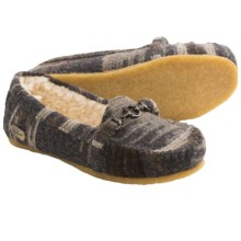 Woolrich Jacy Moccasin Slippers (For Women) in Grey - Closeouts