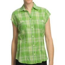 Woolrich Janella Shirt - Cotton, Short Sleeve (For Women) in Sprout - Closeouts