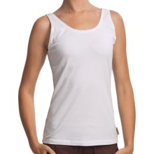 Woolrich Javona Tank Top - UPF 40+, Stretch Cotton Jersey (For Women) in White - Closeouts
