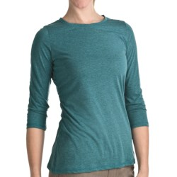 Woolrich Journey Shirt - 3/4 Sleeve (For Women) in Marine