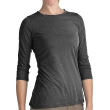 Woolrich Journey Shirt - 3/4 Sleeve (For Women) in Black - Closeouts