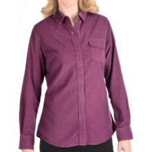 Woolrich Juniper Valley Corduroy Shirt - Washed Cotton (For Women) in Blackberry - Closeouts