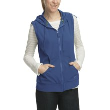 Woolrich Karina Double Weave Vest - Soft Shell (For Women) in Light Blue Moon - Closeouts